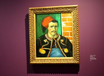 Vincent VAN GOGH, Le Zouave, 1888? Huile sur toile 65 X 54 cm