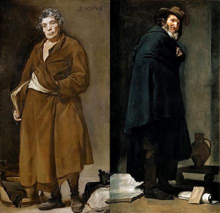 Velazquez - Esope et Menippe - 1639-1640