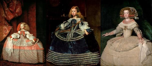 Velazquez - Trois portraits d'infante