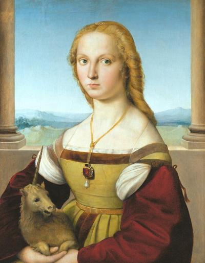 La dame à la licorne, Raphaël