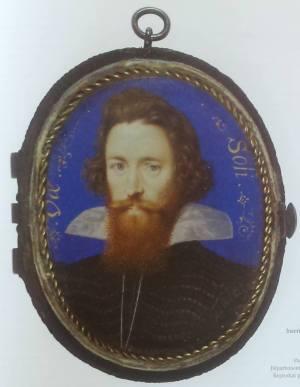 Image 4 : Robert Devereux, comte d'Essex, avant 1601, miniature sur velin, 50x40mm, musée du Louvre (Inv. Sauvageot 1068)