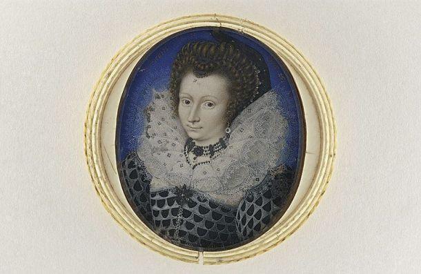 Image 7 : Portrait de femme à l'âge de 26 ans, miniature sur velin, 51x42mm, musée du Louvre (R.F. 51 006)