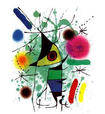 Joan Miro, Poisson chantant