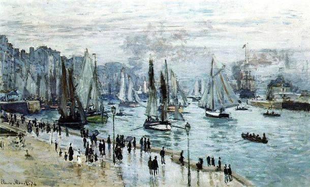 Claude Monet, Bateaux quittant le port