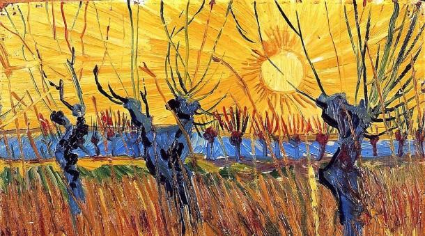 Saules-têtards-au-coucher-de-soleil-1888