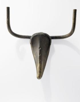 Pablo Picasso, Tête de taureau, 1942 Bronze 42 x 41 x 15 cm Collection particulière / Photo © Maurice Aeschimann © Succession Picasso 2016