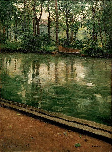 L'Yerres, pluie, 1875, huile sur toile, 80,3 x 59,1 cm, Indiana University Art Museum, Bloomington, IN