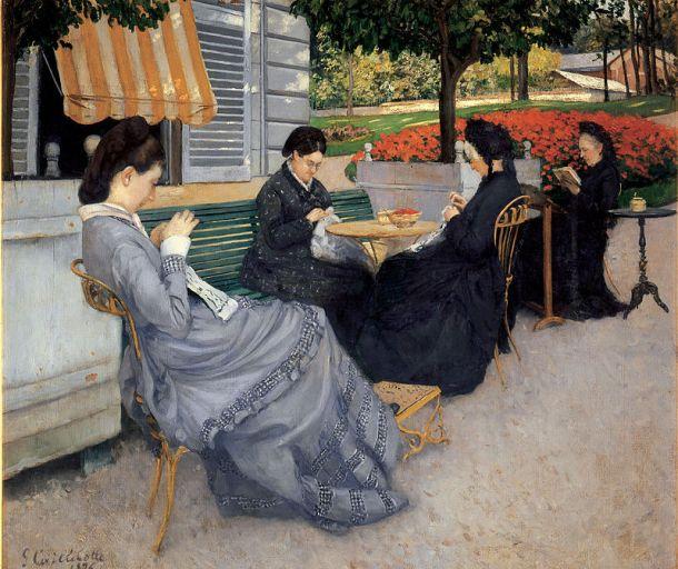 Portraits à la campagne, 1876, huile sur toile, 95 x 111 cm, Musée Baron Gérard, Bayeux
