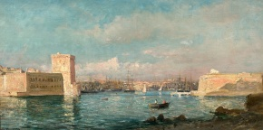 Raphaël Ponson, le peintre descalanques