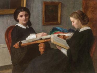 Les deux soeurs, 1859, Saint Louis art Museum
