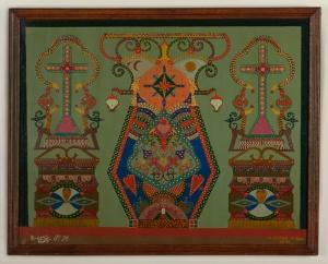Tableau n°55, janvier 1940, Montigny-en-Gohelle, huile sur toile 55 x 72 cm